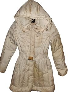 Cole Haan Down Filled Belted Winter Coat w Hood